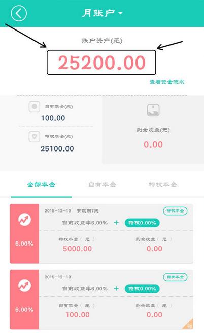 微信关注悟空理财,投100元月标赚23元可提现! 活动线报 第2张