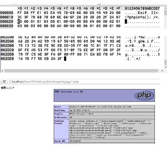 Nginx文件类型FastCGI错误解析漏洞--攻击演练 教程资料 第7张