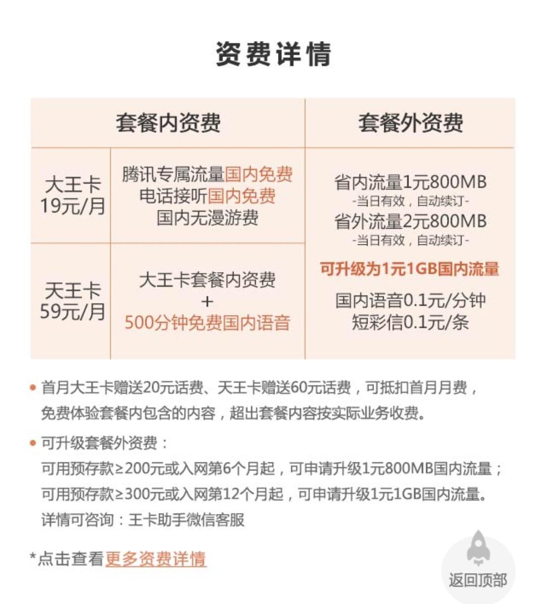 腾讯王卡福利再升级:每月免费送流量/通话 活动线报 第3张