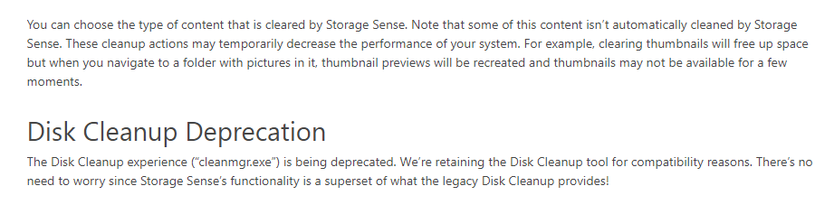 Windows 10将抛弃用了20年的磁盘清理你用过它吗? 互联网 第3张