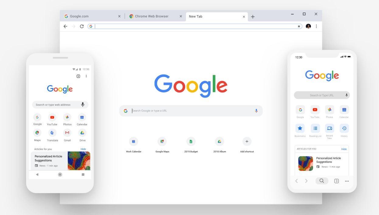 如何更改谷歌Chrome浏览器70新标签页按钮的打开位置