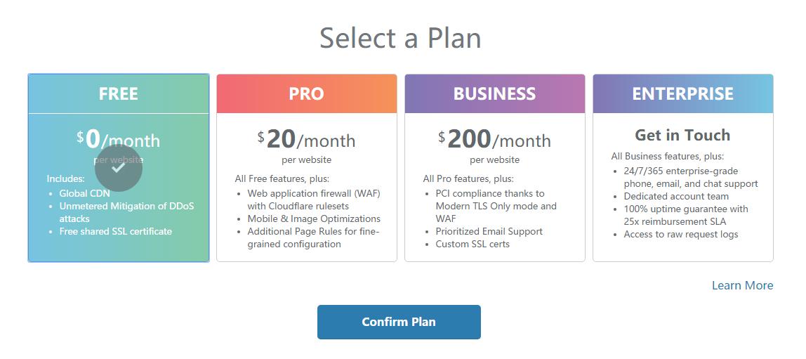 使用CloudFlare来做301跳转 域名无需备案,支持百度收录 教程资料 第4张