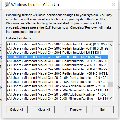 Win10专用Windows Installer清理实用程序