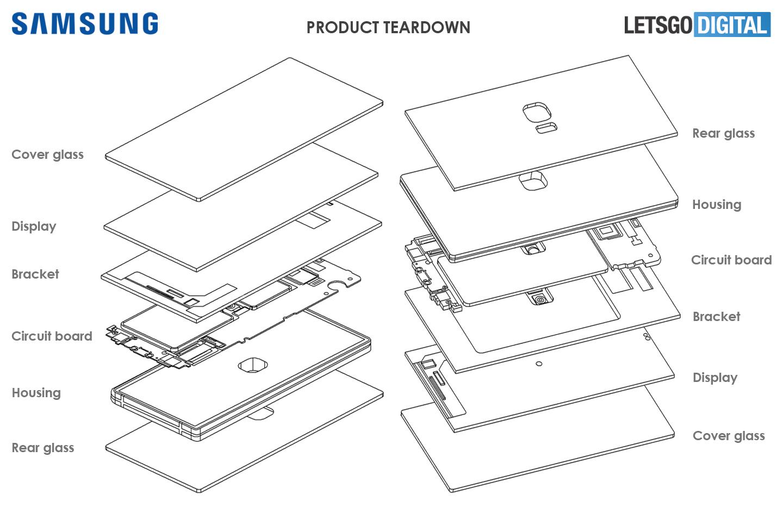 三星的最新专利曝光,摄像头在屏幕中心、屏下天线、全息投影 互联网 第3张